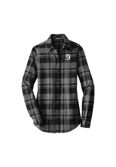Women's Plaid Flannel Tunic