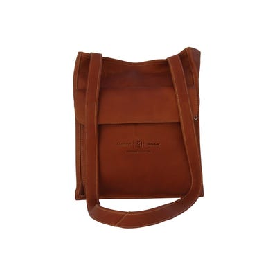 Leather Shoulder Tote Organizer